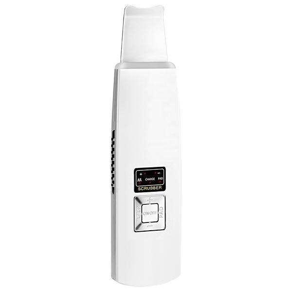 Limpador Facial Bcare Ultrasonic Ionic Skin Scrubber Recargable - Blanco - 0
