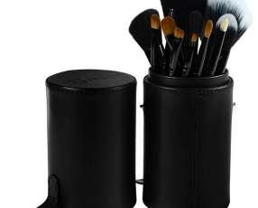 Kit de brochas para Maquillaje Gati Paris 13 Partes - Negro