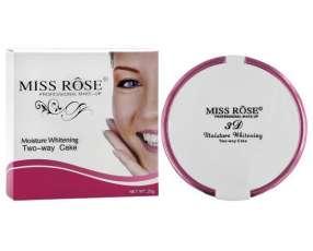 Polvo Facial Miss Rose Moisture Whitening 7003-146N - Cor 01
