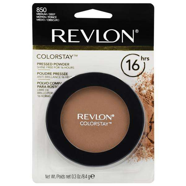 Polvo Facial Revlon ColorStae Pressed Powder - 850 Medium Deep - 0