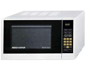 Microondas Megastar MCW-25-2 25 Litros 220Volt-Blanco
