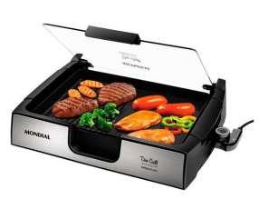 Grill Mondial G10 Due Grill Inox Premium de 1.500 watts 220V - Negro
