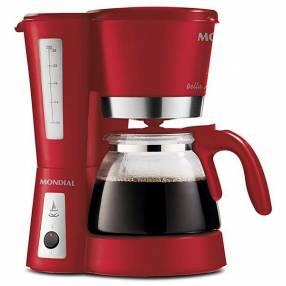 Cafetera Mondial Bella Arome 26 C26 con Sistema Corta-Pingos 110V - Rojo