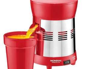 Exprimidor de Frutas Mondial Turbo Premium E-24 127-220V~50|60 Hz - Rojo