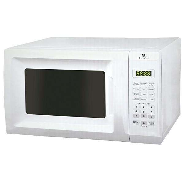 Microondas ElectroBras EBHM-20B1 700 watts de 20 Litros 127V~60Hz- Blanco - 0