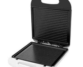 Sandwichera britania Super Grill 3 1.340 watts Antiaderente 127V~60Hz - Blanca