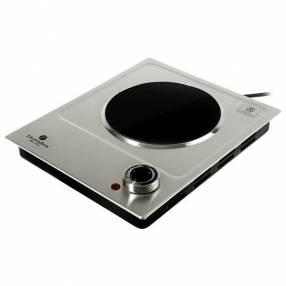 Placa de Cocina Electrobras Premium Cook Inox EBVC011.200 watts 220V|50-60 Hz - Plateado|Negro