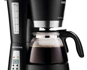 Cafetera Mondial Bella Arome C-14 con Timer y Corta Pingos 220V~60Hz - Negra