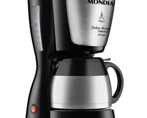 Cafetera Mondial Dolce Arome Thermo Inox C-33JT-24X 800 watts 127V~60Hz - Negra|Plateado