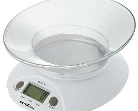 Balanza Digital para Cocina Britania BCZ 5 para hasta 5 kg Blanca