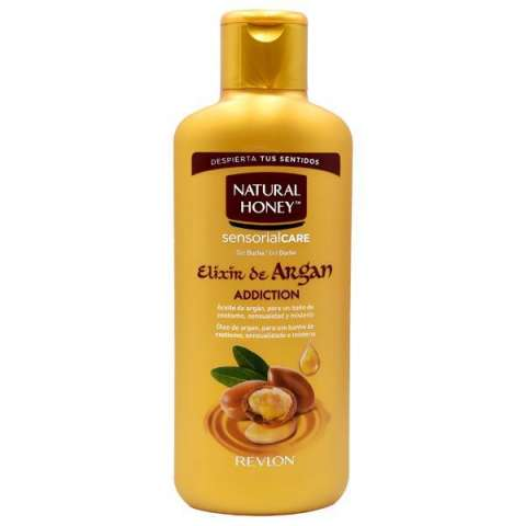 Gel deBaño Natural Honee Elixir de Argan Addiction 650 ml