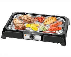 Barbacoa eléctrica mondial Grand Steak & Grill CH-05 de Acero Inox 127V~60Hz - Negro