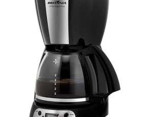 Cafetera Britania CP38 Digital Inox con Timer y Corta Pingos 127V~60Hz - Negra