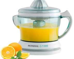 Exprimidor de Frutas Mondial Turbo Citrus E-01 25 watts para 1.25 Litros 220V - Blanco