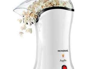 Máquinas de palomitas de maíz Popflix PP-04 de 1.200W 127V - Blanca