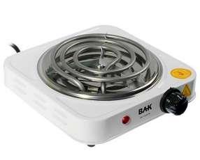 Placa de Cocina Eléctrica BAK BK-1000W 1000W con Boca de 140mm 110V - Blanco