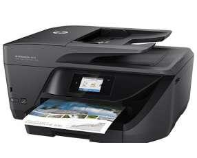 Impresora HP Multifuncional OfficeJet Pro 6970 Wide J7K34A Wi Fi 4 en 1 Bivolt - Negro