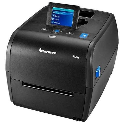 Impresora Térmica Intermec PC43t con Tela LCD|USB Bivolt - Negro