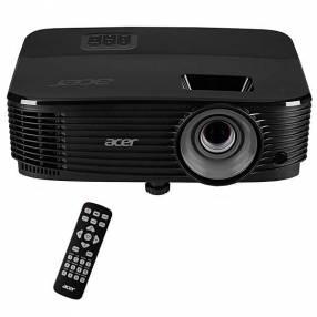 Projetor Acer X1223H de 3.600 lúmens HDMI|VGA|RS232 Bivolt negro