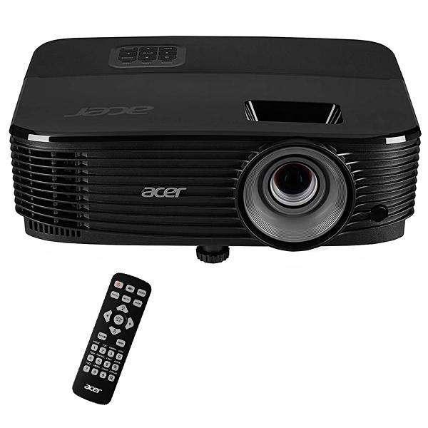 Projetor Acer X1223H de 3.600 lúmens HDMI VGA RS232 Bivolt negro - 0