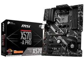 Placa Madre MSI X570-A PRO Socket AM4 - hasta 4 DDR4