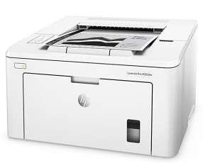Impresora HP LaserJet Pro M203dw Wi Fi|LAN 10|100 Mbps 110-127V | 60Hz - Blanca