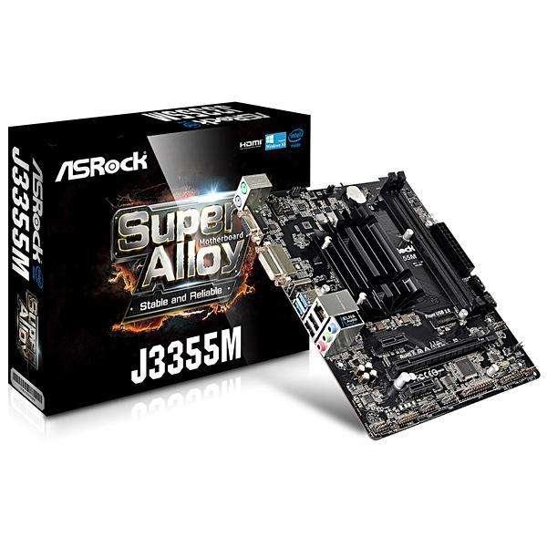 Placa Madre ASRock J3355M CPU J3355 - hasta 2 DDR3 - 0
