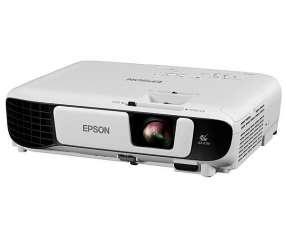 Proyetor Epson PowerLite S41+ de 3.300 Lumens HDMI|VGA Bivolt - Blanco