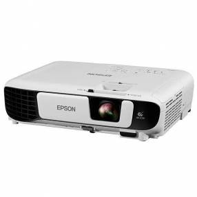 Proyector Epson PowerLite S41+ de 3.300 lumens HDMI VGA Bivolt blanco