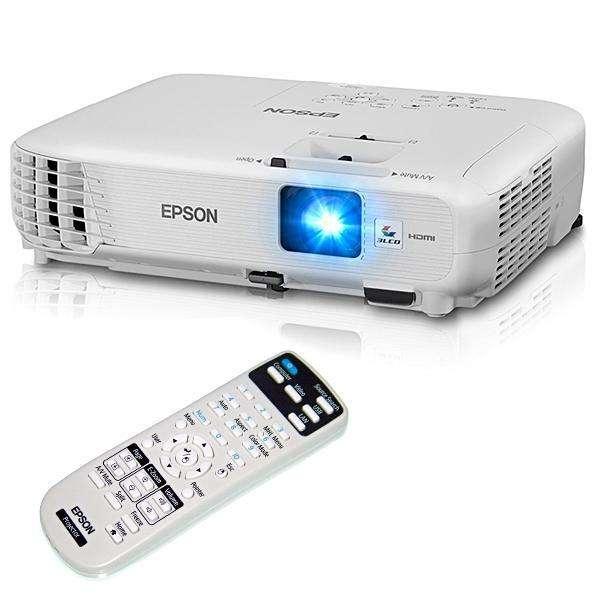 Proyectores Epson PowerLite Home Cinena 740HD (RB) 3000 Lúmens HDMI USB - Blanco - 0