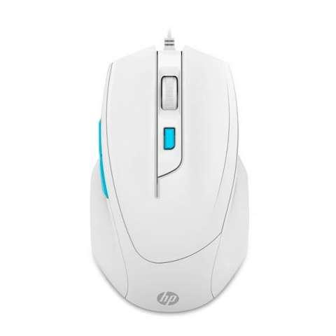 Mouse Gaming HP m150 USB 1.000 ~ 1.600 DPI - Blanco
