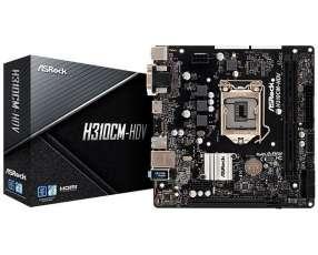 Placa Madre ASRock H310CM-HDV Socket LGA 1151 - hasta 2 DDR4