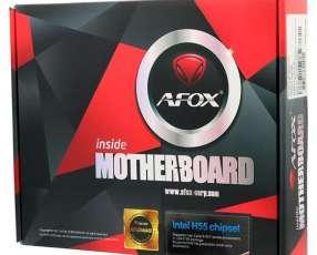 Placa Madre AFOX IH55-MA4 Socket LGA 1156 - DDR 3 Dual Channel