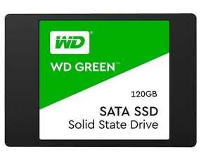SSD de 120GB WD Green WDS120G2G0A de 545MB|s de Leitura - Negro