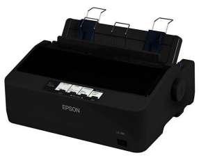 Impresora Epson LX-350 EU 9 Pinos 4 Cópias + 1 Original - Negra