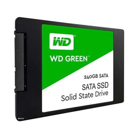 SSD de 240GB Western Digital Green WDS240G2G0A 545MB|s de Leitura - Negro