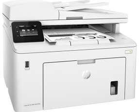 Impresora Multifuncional HP LaserJet Pro MFP M227fdw con Wi-Fi 220V - Blanca