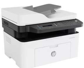 Impresora Multifuncional HP Laser MFP 137fnw (4ZB84A) Wi-Fi 127V - Blanca|Gris