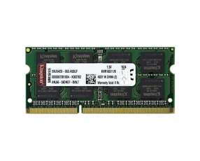 Memória RAM 8GB DDR3 para Computadora Portátil Kingston KVR16S11|8 1.600MHz - Verde