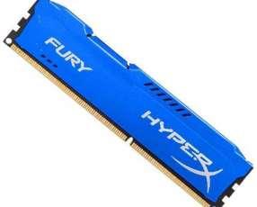 Memória RAM para PC HeperX HX318C10F|4 de 4GB DDR3 - Azul