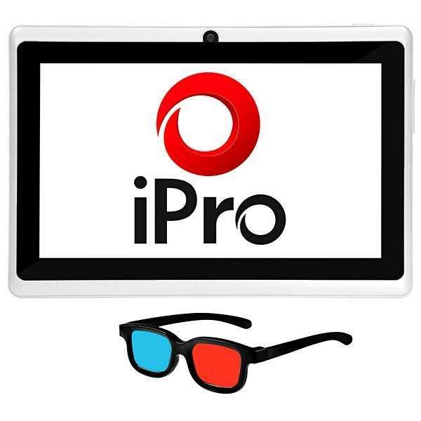 Tablet IPRÓ MEGA7 Wi-Fi 8GB de 7.0