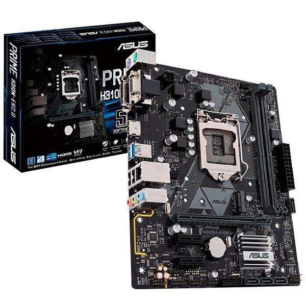 Placa Madre Asus Prime H310M-K R2.0 Socket LGA 1151 - hasta 2 DDR4 - 0