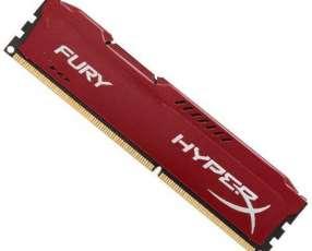 Memoria RAM para PC HeperX HX318C10FR|4 de 4GB DDR3 - Roja