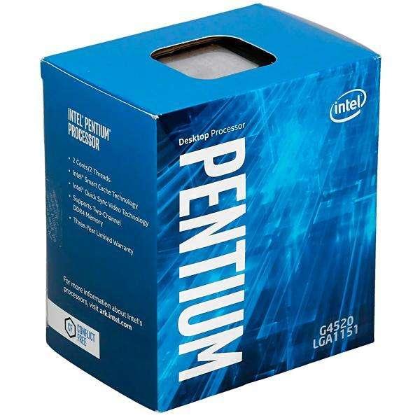 Procesador Intel Pentium G4520 Dual Core de 3.6GHz con Cache de 3MB - 0