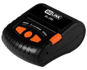 Impresora Térmica Go Link GL-380 con Bluetooth|Bateria Recargable - Negra