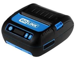 Impresora Térmica Go Link GL-28 con Bluetooth|Bateria Recargable - Negra|Azul