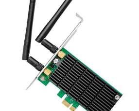 Placa de Red para PC TP-Link Archer T4E AC1200 de 867 + 300Mbps con 2 Antenas