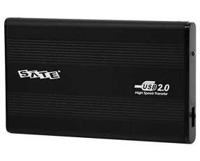 Gaveta para HD Satellite AX-241 USB 2.0 - Negra