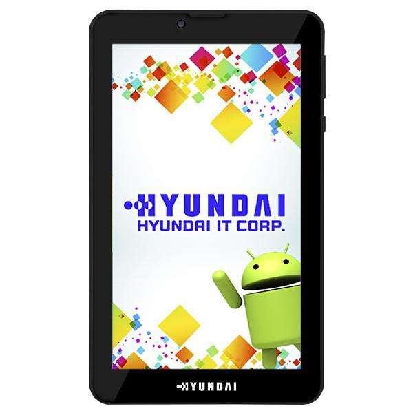 """Tabletas Hyundai Maestro Tab HDT-7435G4 Dual SIM 8GB de 7.0"""" 2MP VGA OS 6.0 - Negro - 0"""