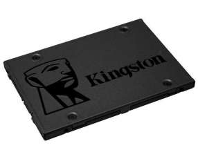 SSD de 480GB Kingston A400 SA400S37|480G 500MB|s de Leitura - Gris